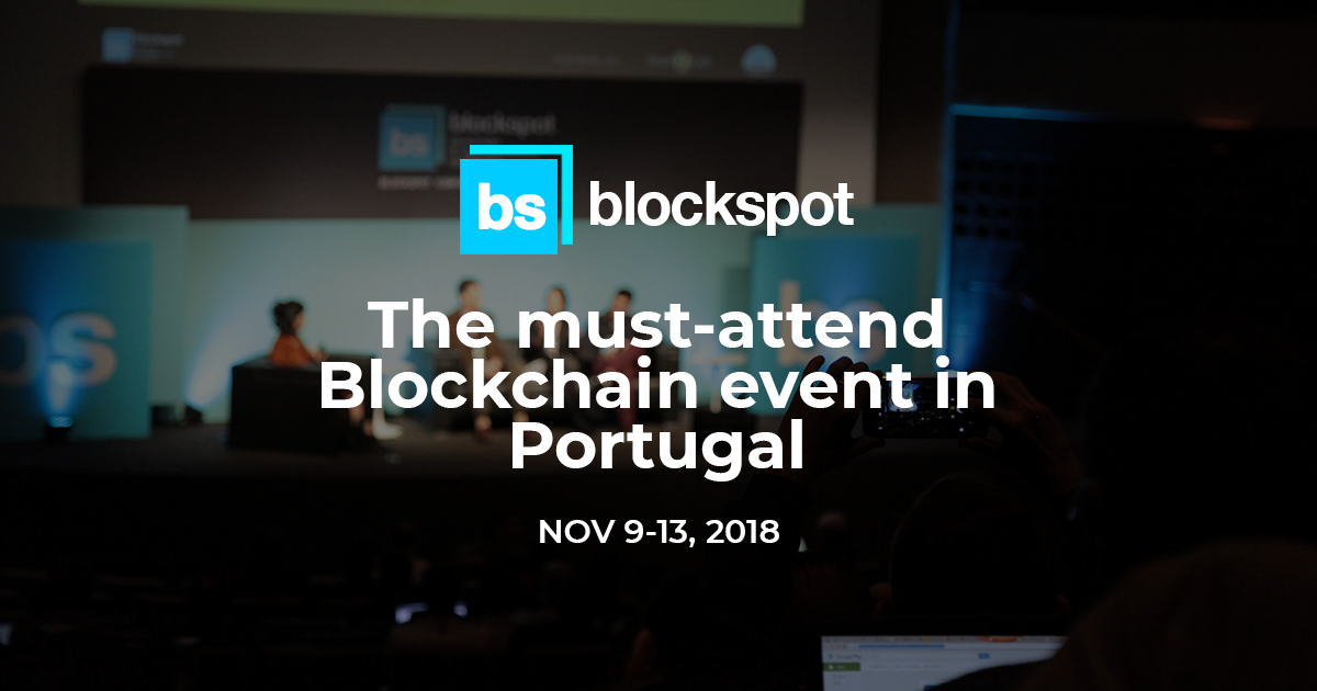 Blockspot conference europe 2018
