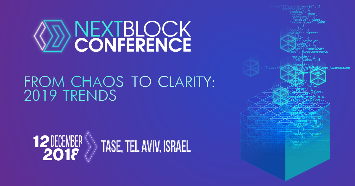 "EXT BLOCK Conference ""From Chaos To Clarity: 2019 Trends"""