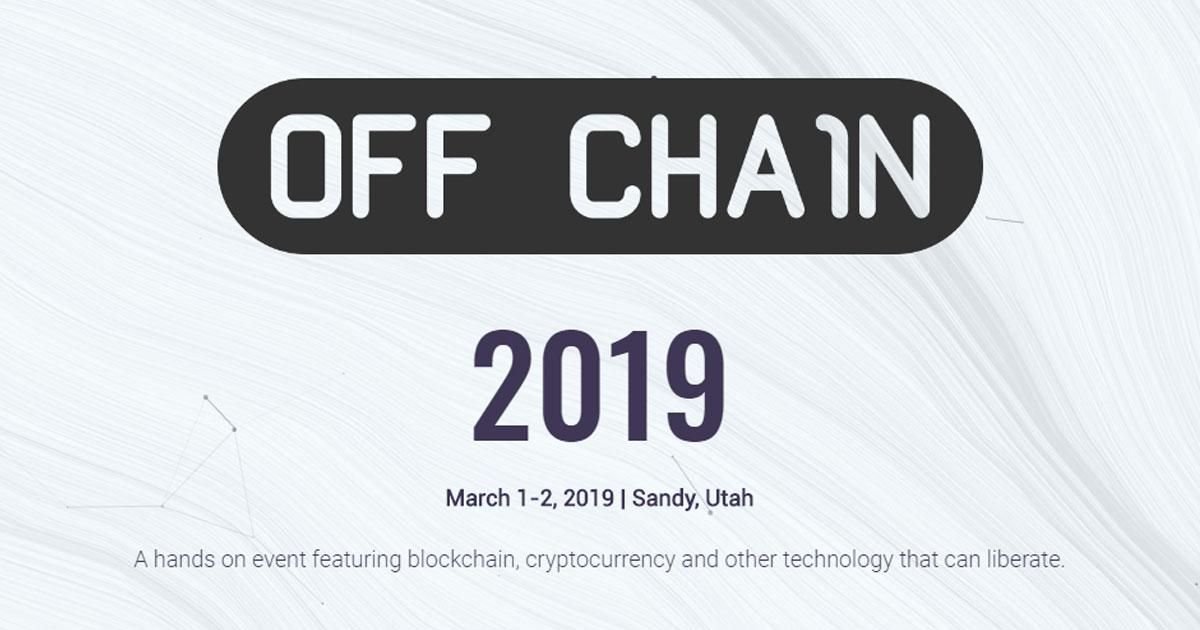 Off Chain Conference 2019