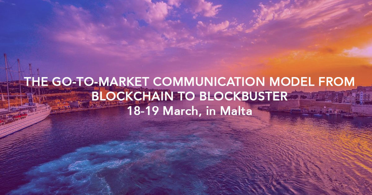 The Go-To-Market Communication Model from Blockchain to Blockbuster