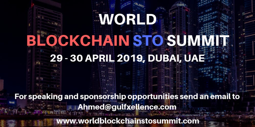 World Blockchain STO Summit Dubai