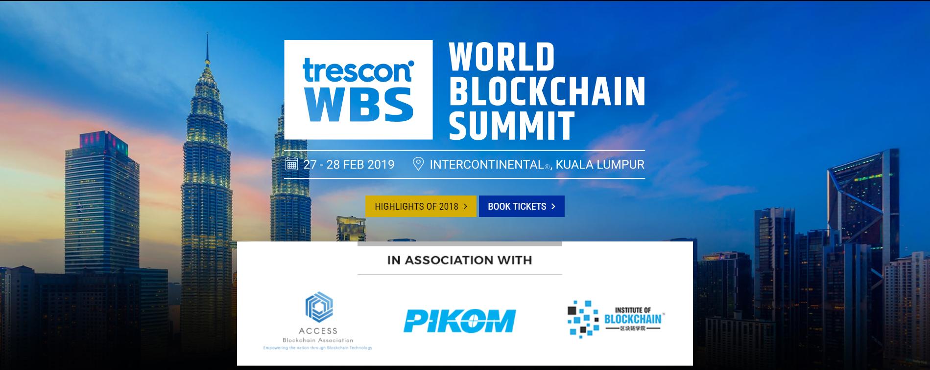World Blockchain Summit Malaysia