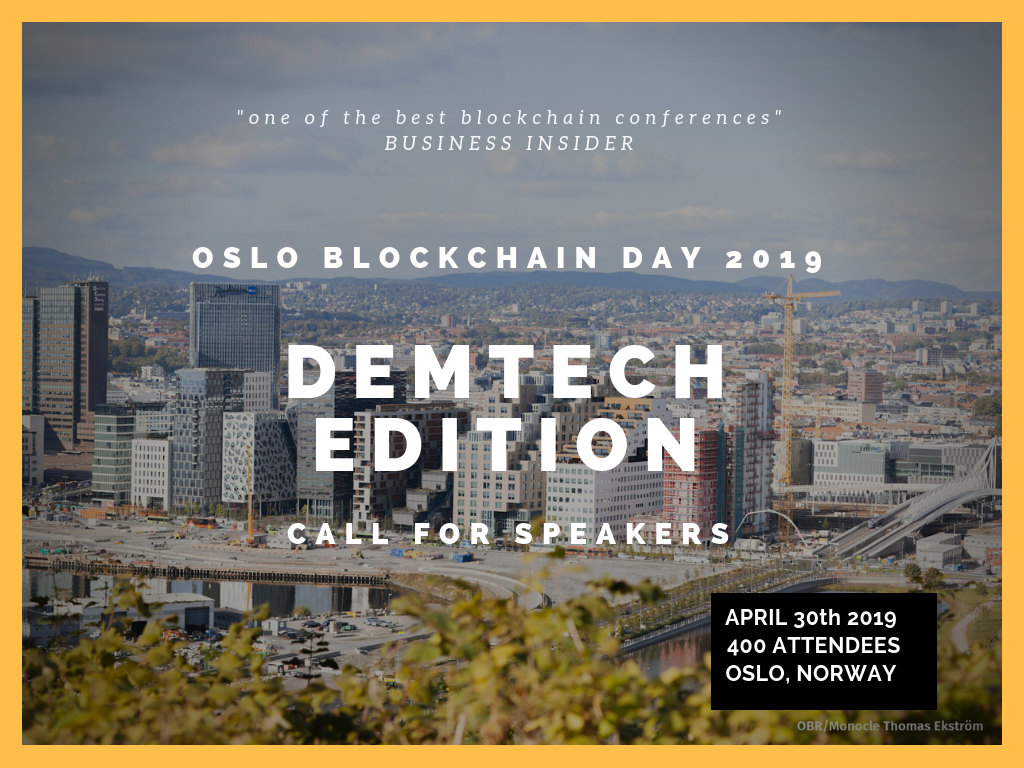 Oslo Blockchain Day