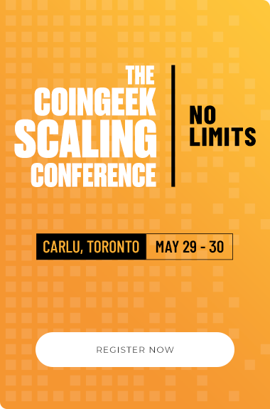 CoinGeek Toronto Conference - CoinGeek Scaling Conference | No Limits