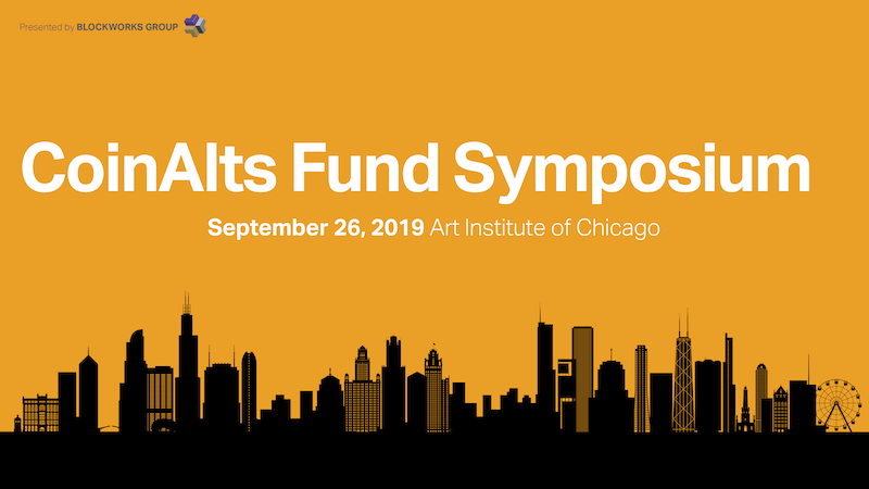 CoinAlts Fund Symposium 2019