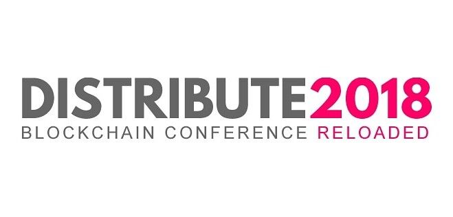 Distribute conference banner
