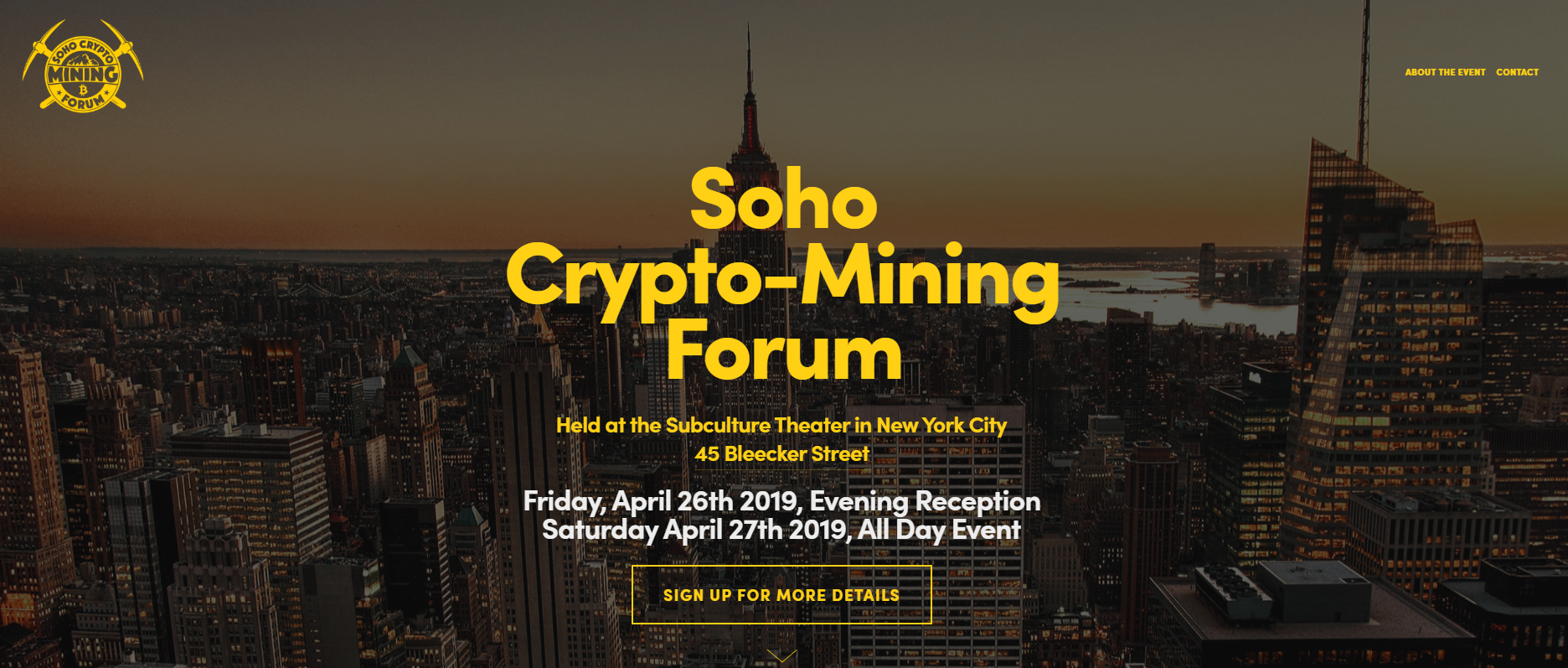 Soho Crypto-Mining Forum