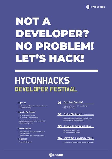Hycon Hacks Hackathon