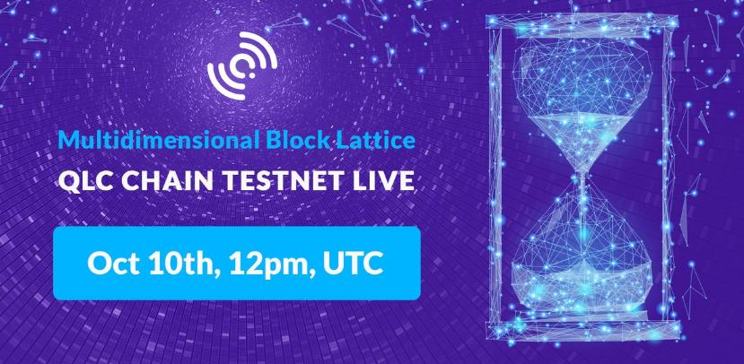 QLC Chain Launches TestNet & AMA