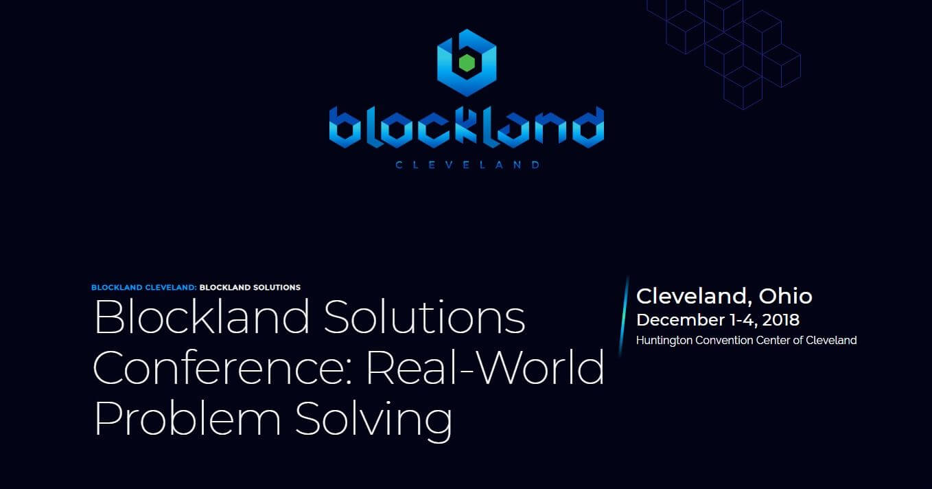 Blockland Solutions Conference for Business and Government