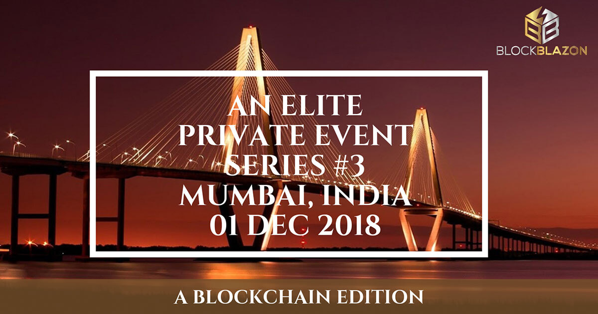 Elite Private Investor Event Series #3 – A Blockchain Edition