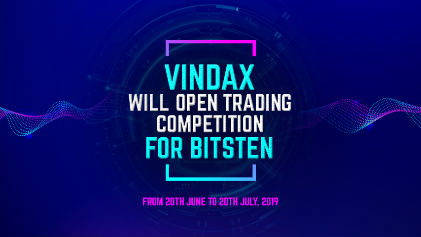 Bitsten token Trading Competition From June 20th , 2019 to July 20th, 2019