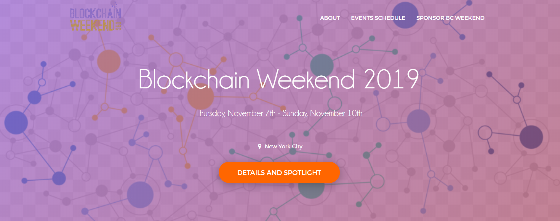 Blockchain Weekend NYC