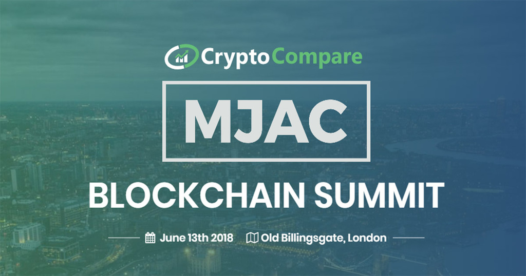 CryptoCompare & MJAC Blockchain Summit