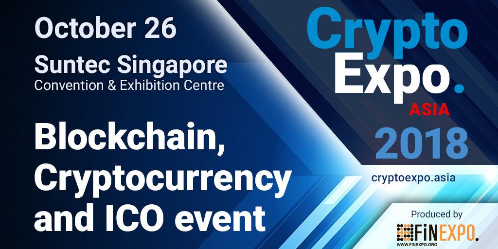 Crypto EXPO Asia in Singapore