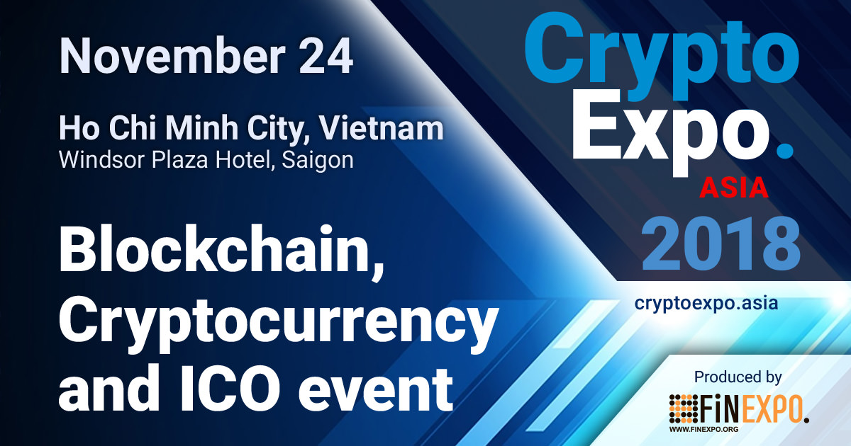 Crypto EXPO Asia in Vietnam