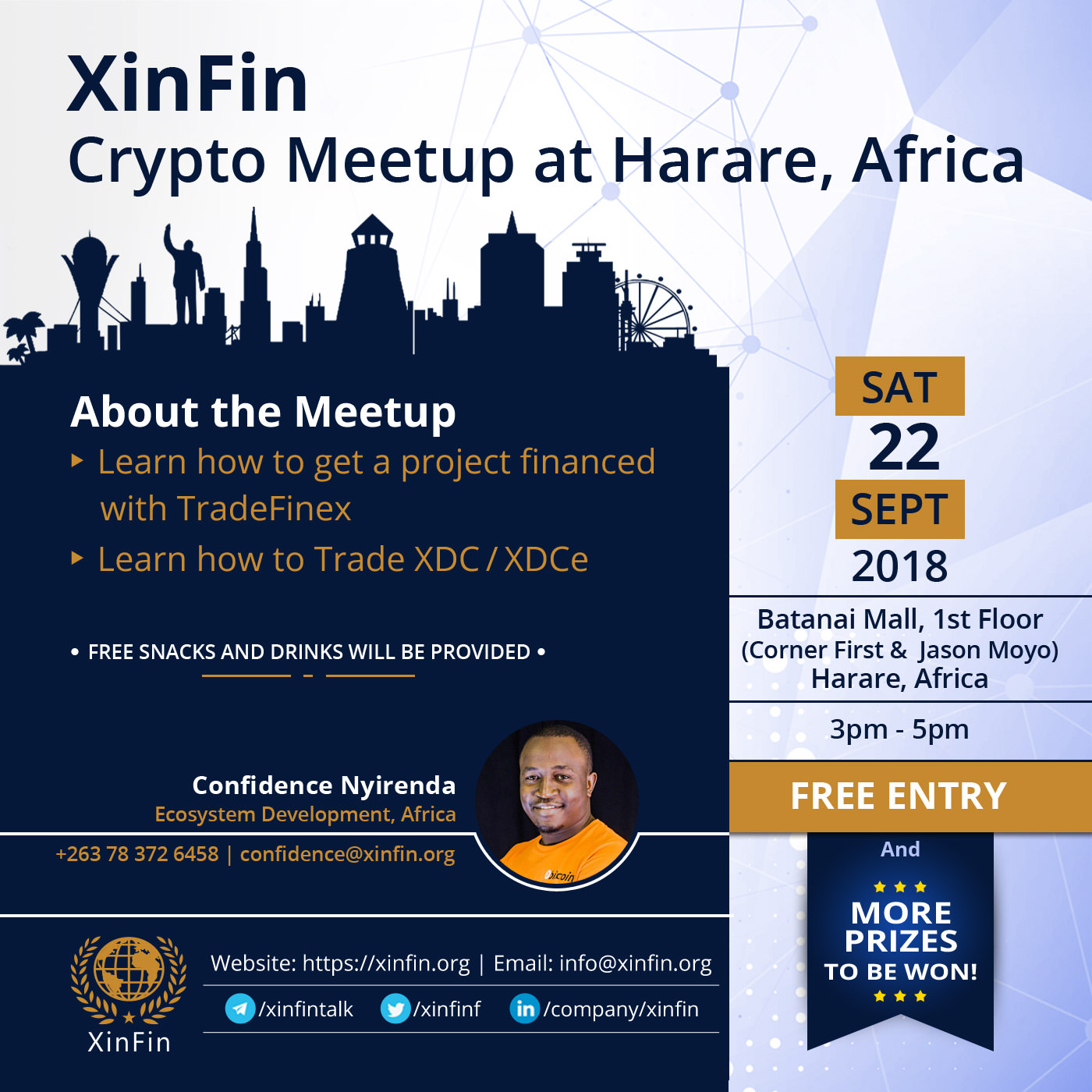XinFin Africa CryptoMeet3