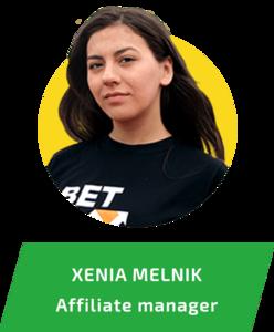 Xenia Melnik profile picture