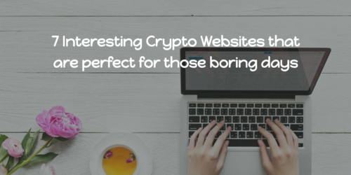 7 interesting crypto websites  cover