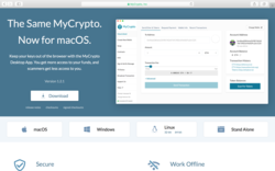 How to Use the New MyCrypto Desktop App