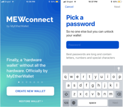 A Beginner's Guide to MyEtherWallet's iOS Mobile Wallet