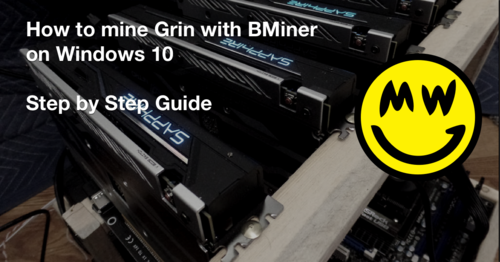 How to Mine Grin Coin with Bminer - Step by Step Guide