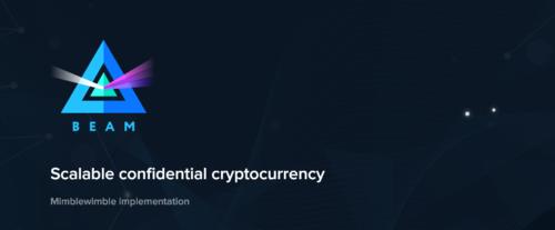 An Introduction to Beam, a Mimblewimble Cryptocurrency