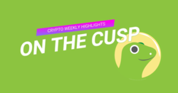 On The Cusp: CoinGecko's Crypto Weekly Highlights