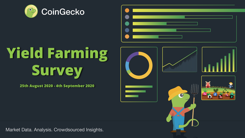 CoinGecko Yield Farming Survey 2020