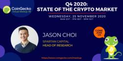 CoinGecko Virtual Meetup Featured Guest: Jason Choi (Head of Research at Spartan Capital)