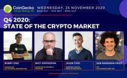 The State Of The Crypto Market In Q4 2020 | CoinGecko Virtual Meetup #8