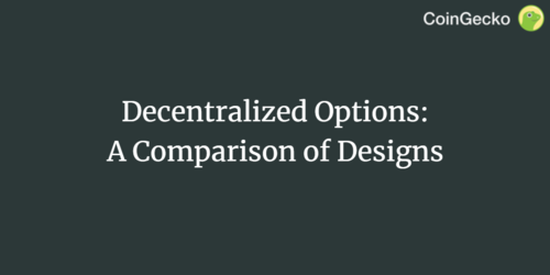 Decentralized Options: A Comparison of Designs