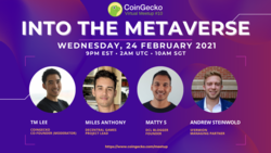 The Metaverse: Our New Universe? | CoinGecko Virtual Meetup #10