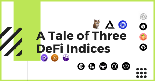 A Tale of Three DeFi Indices