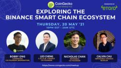 Exploring the Binance Smart Chain Ecosystem | CoinGecko Virtual Meetup #12