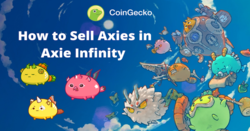 Axie Infinity: How to Sell Axies