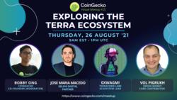 Exploring the Terra Ecosystem | CoinGecko Virtual Meetup #15