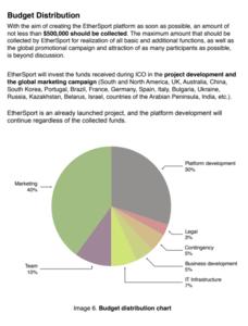 Ethersport fund allocation